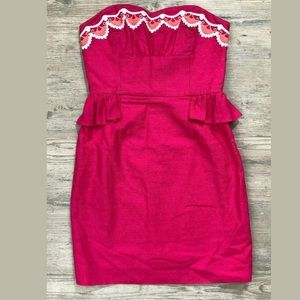 Lilly Pulitzer Spring Embroidery Blossom Dress